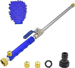 Buyplus 水力喷气电动高压清洗棒 - 便携式高压水枪,可延长花园软管洒水器,带喷嘴,用于车窗玻璃清洗和清洁和清洁清洁的喷头