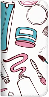 Mitas ZenFone4Selfie ZD553KL 手机壳 手账型 无带 化妆品 白色 (368)NB-0150-WH/ZD553KL