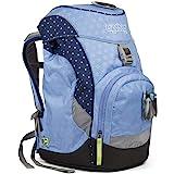 ERGOBAG HimmelReitBär 儿童背包,35 厘米,蓝色圆点