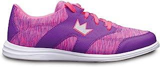 Brunswick 女士 Karma 运动保龄球鞋 - 紫色/粉色
