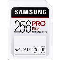 SAMSUNG 三星 PRO Plus 256GB SDXC UHS-I U3 100MB/s 全高清 & 4K UHD…