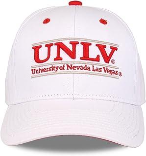 UNLV Rebels 成人游戏杆可调节帽子 - 白色,