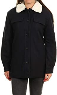 OXBOW 女士 M2JANIS 皮夹克,深*蓝,XL 码