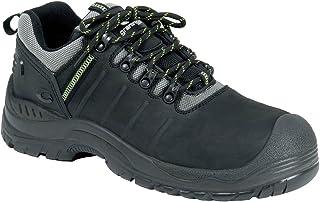 "Ejendals 7288-36 尺寸 36 英寸 Graninge 7288"" *鞋 - 黑色/绿色"