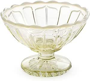 小碗 玻璃 : 广田玻璃 2236-OA 花蕾 古色 直径11.4x高7.6厘米 11795 3个装 日本制造