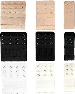 女式文胸延长带 2 个挂钩 3 个挂钩 4 个挂钩 弹性背部文胸带延长带