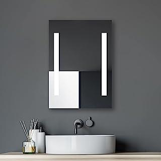Talos Horizon LED 浴室镜,玻璃,铝,4200开尔文,50x70厘米