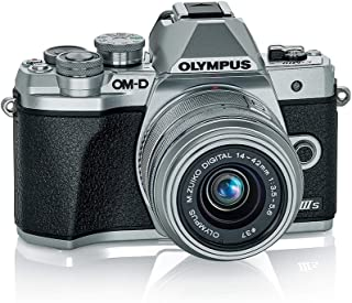 Olympus 奥林巴斯 OM-D E-M10 Mark IIIs 银色机体 M.*ko 数字 14-42mm F3.5-5.6 IIR 镜头 (V207111SU000)
