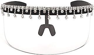 Culeze 海贼王水钻太阳镜平顶防护太阳镜水滴水钻 UV400 防护太阳眼镜