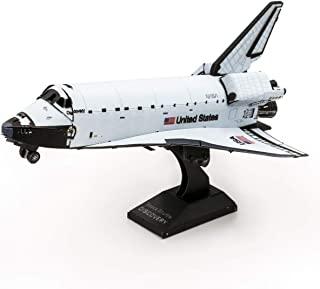 Fascinations 金属地球航天飞机探索彩色版本 3D 金属模型套件