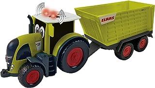 Happy People L&S 34541 Claas Kids Axion 870 拖拉机 + 拖车 Cargos 750 - 带灯光和声音