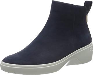 ECCO 爱步 女士 柔酷7号 Soft 7 坡跟城市及踝靴