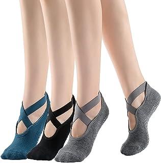 MTeng 瑜伽袜 防滑袜 带抓地力 瑜伽 芭蕾舞 舞蹈 健身