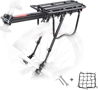 自行车后架,自行车行李架铝制自行车架架架山地自行车 MTB 行李架带反光条