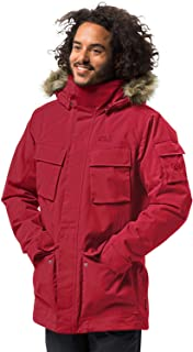 Jack Wolfskin 男士Glacier Canyon 大衣 冬季大衣 防水防風透氣
