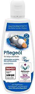PAEDIPROTECT 护理油,适用于婴儿和儿童(1 x 200 毫升),不含微塑料颗粒,不含香水,纯植物性