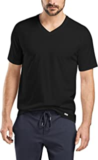 HANRO 男士休闲短袖 V 领衬衫