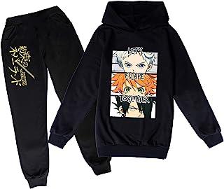 Pro-mised Never-land 连帽衫和运动裤 两件套 Emma Norman Ray 运动衫适合男孩和女孩