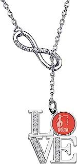 WSNANG DST 灵感希腊联谊会礼物红色大象耳环希腊联谊会耳环姐妹礼物