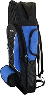 PROMATE 背包风格包适用于面罩、*管和脚蹼潜水装备浮潜冲浪旅程夜间背包