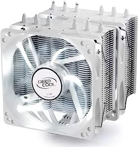 DEEPCOOL CPU Cooler NEPTWIN WH 6 Heat Pines