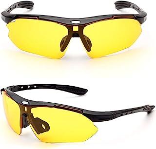 FETESNICE 偏光运动太阳镜,自行车眼镜男女驾驶钓鱼高尔夫棒球跑步徒步眼镜
