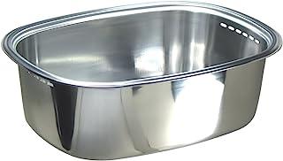 nagao 不锈钢洗涤槽,37.5x28.6 cm,在椿本市制造