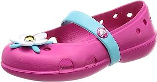 crocs 卡骆驰 Keeley Charm 女孩款玛丽珍平底凉鞋