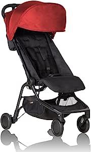 Mountain buggy nano V2 旅行婴儿推车 红色