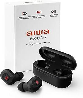 Aiwa – Prodigy Air 2 – TWS 无线耳塞 – 快速充电耳机,带真正的无线立体声