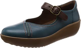 Achilles SORBO 运动鞋 真皮 厚底 宽幅 方便行走 3E 女士