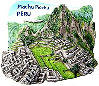 Machu Picchu 秘鲁,高品质树脂 3D 冰箱磁贴,7 个世界奇迹