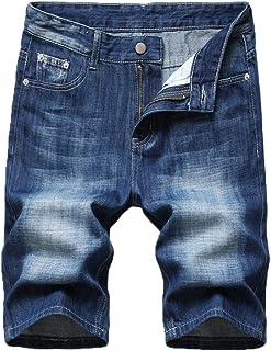 vogstyle 男式潮人嘻哈修身 runway 做旧修身骑行牛仔裤
