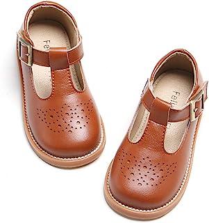 GINFIVE 女孩平底玛丽珍鞋学校派对礼服牛津鞋(幼儿/小童款)