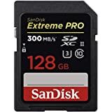 SanDisk 闪迪 Extreme PRO SDXC存储卡 128GB 速度至高300MB/s,UHS-II,Clas…