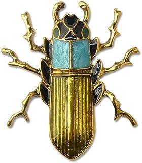 METTU 合金镶嵌锆石水晶昆虫胸针 多种可选,可爱创意昆虫胸针时尚珠宝