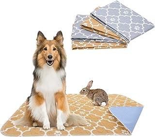 KOOLTAIL 4 件装狗狗粪便垫套装防漏宠物粪便垫*耐用宠物垃圾垫四叶草图案适用于宠物训练和使用