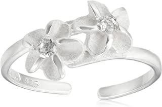 夏威夷珠宝 来自夏威夷直接进口 图戒指 小指尾戒 凉鞋 夏季 银925 锆石
