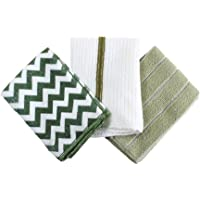 SPICE OF LIFE 微毛巾3件套 Vari Chevlan 30×30厘米 超细纤维 带挂环 清洁 十字 小礼物…