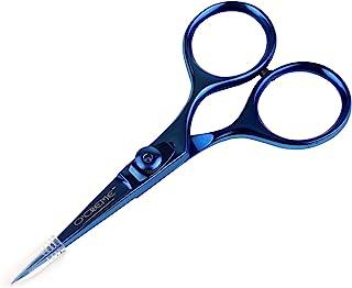 O'Creme 超锋利厨师剪刀全不锈钢零食修理工具 蓝色 SSSC-