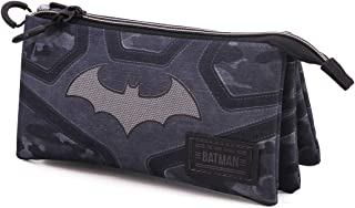 KARACTERMANIA 蝙蝠侠恐惧三层 HS 铅笔盒,黑色,均码