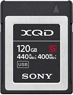 Sony 索尼 Professional XQD G 专业存储卡(QD-G120F / J),120GB