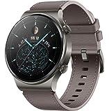 HUAWEI Watch GT 2 Pro 经典智能手表(35 毫米 AMOLED 显示屏,SpO2 监测,心率监测器…