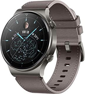 Huawei 华为 WATCH GT 2 Pro 智能手表,1.39英寸AMOLED高清触屏,2周续航时间,GPS & GLONASS,SpO2,超过100种训练模式,蓝牙通话,心率测量,星云灰