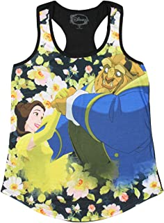 Disney Beauty And The Beast Floral Sublimation 女童背心