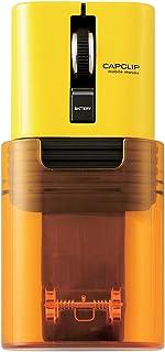 Elecom宜丽客 鼠标 Bluetooth (支持 iOS)S号 小型 3 键 静音 减少 95% 手机 充电式 锂离子电池 CAPCLIP 黄色 iPad Pro 2020 M-CC2BRSYL