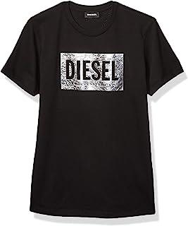 Diesel 女童直筒牛仔裤 Ariel Denim Nero 8