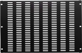 NavePoint 1U 空白机架安装面板 IT 服务器网络垫片开孔 7U