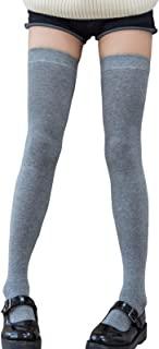 女式大腿高筒袜 过膝长袜 长筒袜 长筒靴 裤袜 31.5 英寸(约 80 厘米)长