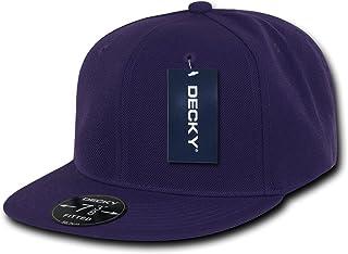DECKY Purple Retro Fitted Baseball Caps